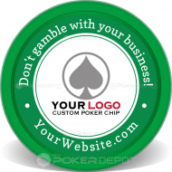 Your Business Custom Clay Poker Chips
