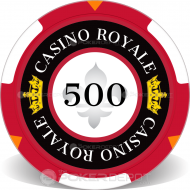 Casino Royale Custom Clay Poker Chips