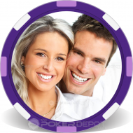 Upload Your Picture Custom Clay Poker Chips