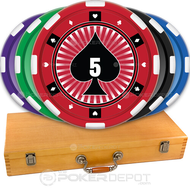 Spade Custom Poker Chips Set