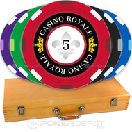 Casino Royale Custom Poker Chips Set