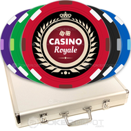Crown Royal Custom Poker Chips Set