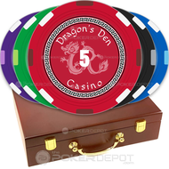 Dragon Casino Custom Poker Chips Set