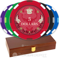 Royal Wings Custom Poker Chips Set