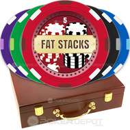 Fat Stacks Custom Poker Chips Set