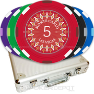 Monte Carlo Casino Custom Poker Chips Set
