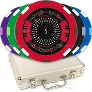 Stylish Elegant Custom Poker Chips Set