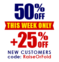 50% + 25% OFF This Week Only