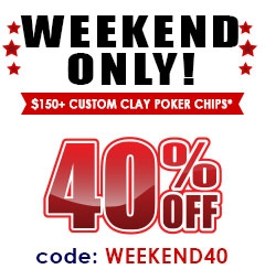 40% OFF Weekend Only!