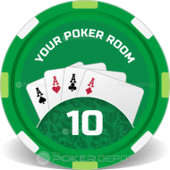 Poker Room Casino Chips
