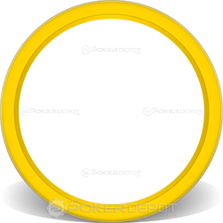 Yellow Solid Poker Chip