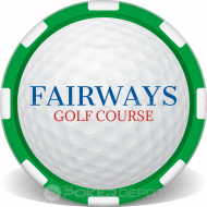Golf Ball Customized Poker Chips