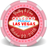Las Vegas Customized Poker Chips