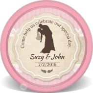 Wedding Invitation Customized Poker Chips