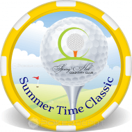 Golf Ball Marker Personalized Poker Chips