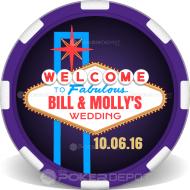 Las Vegas Personalized Poker Chips