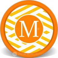 Monogram Personalized Poker Chips