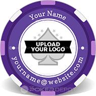 Upload Logo Personalized Poker Chips