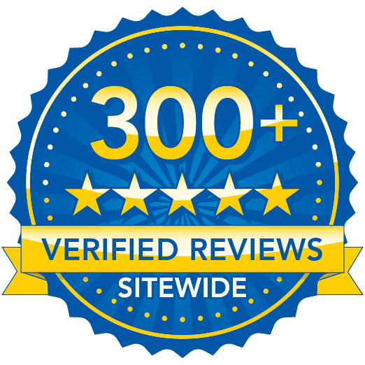 300+ Verified Reviews