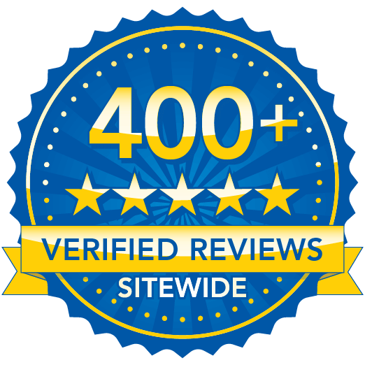 400+ Verified Reviews