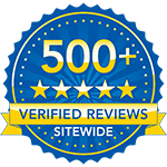 500+ Verified Reviews